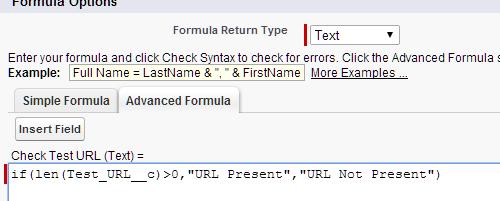 URL Formula